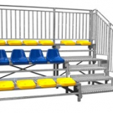 Fixed grandstand for outdoor