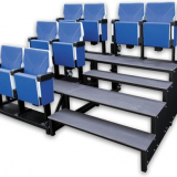 VIP modular and portable grandstand