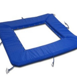 Side protection for trampoline