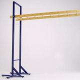 Transportable horizontal ladder