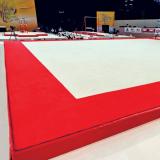 Carpet only for training exercise floor - 13,05 x 13,05 m