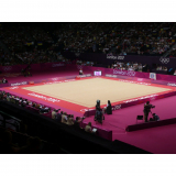 Complete rhythmic gymnastics competition floor - FIG approved