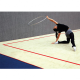Rhythmic gymnastics carpet - competition - with joining strips - FIG approved