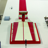 Set of landing mats for competition vaulting - FIG approved