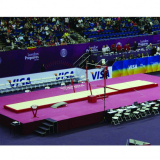 Set of landing mats for competition assymetric bars