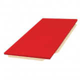 Mat for school without reinforced corners