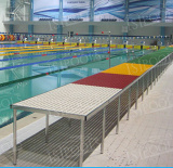 Waterpolo referees platform / catwalk