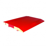 Mats for large safety end decks for large competition trampolines - FIG approved