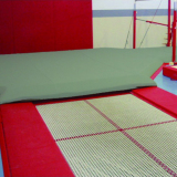 Small built-in trampoline