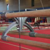 Solid wood ballet barre