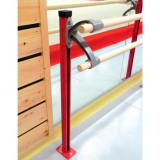 Ballet barre support - with double bracket