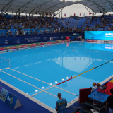 Official FINA Water polo field