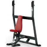 Olympic shoulder press bench