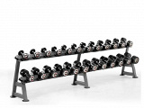 2 tiers dumbbell rack