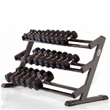 3 tiers dumbbell rack