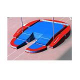 Concept iv modular pole vault landing system. IAAF certificate.