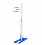 Competition pole-vault uprights without slider carts. IAAF certificate.