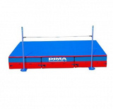 International modular high jump landing system. IAAF certificate.