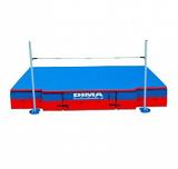 IAAF challenger modular high jump landing system. IAAF certificate.