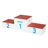 3 place awards stand/stacking plinths