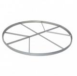 Discus circle with cross bracing