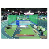 Competition indoor shot put throwing cage. IAAF certificate.