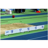 PVC distance indicator board for long jump