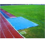 Custom made sand pit cover for long jump and triple jump