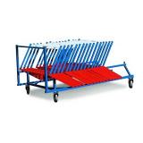 Hurdle cart for 30 hurdles